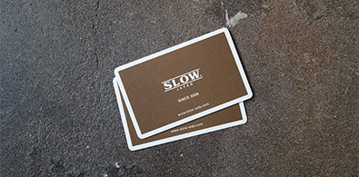 SLOW STORE STAMP CARDについて