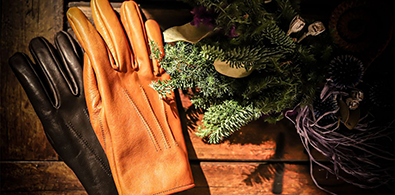 horse leather glove