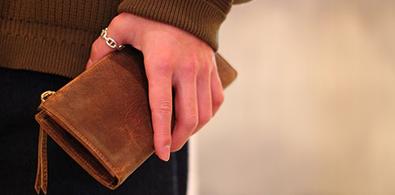 財布を買い替える。
