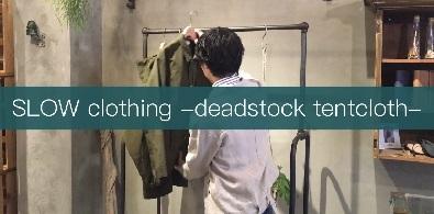 deadstock-tentcloth jacket-