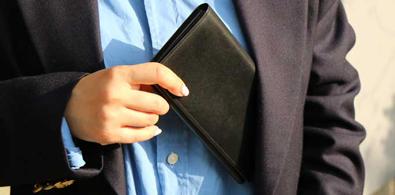 cordvan long wallet