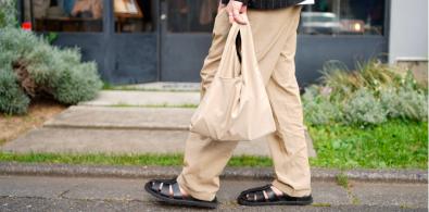 Span nylon -2way grocery shopper –