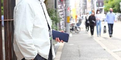 BUBBLE CALF~long wallet ~