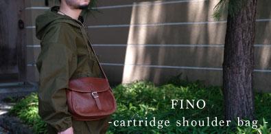 FINO cartridge shoulder