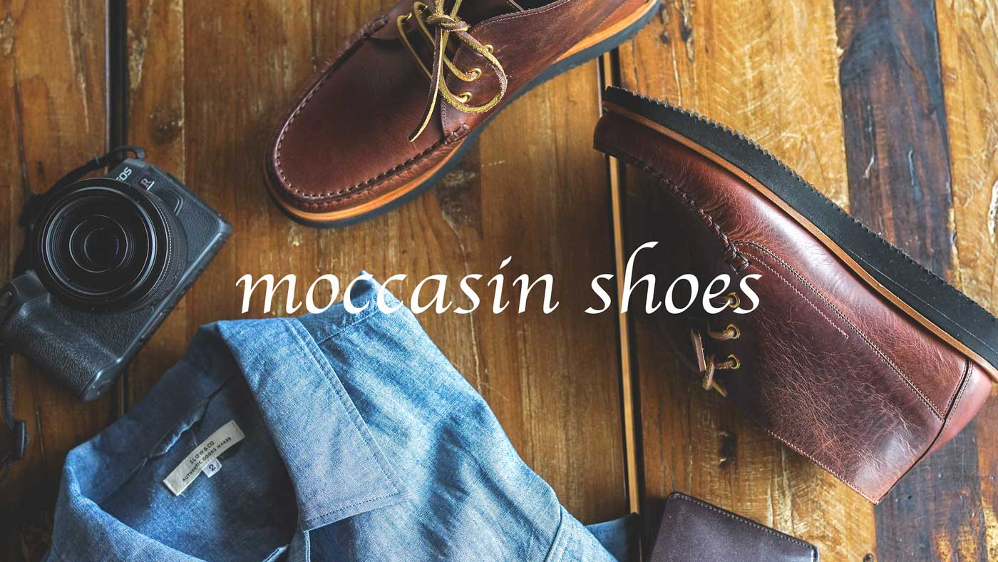 SLOW moccasin shoes