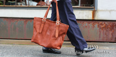 FINO- tote bag & one shoulder –